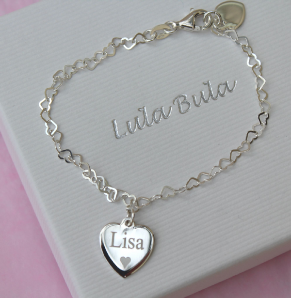 Personalised jewellery gift bracelet - FREE ENGRAVING